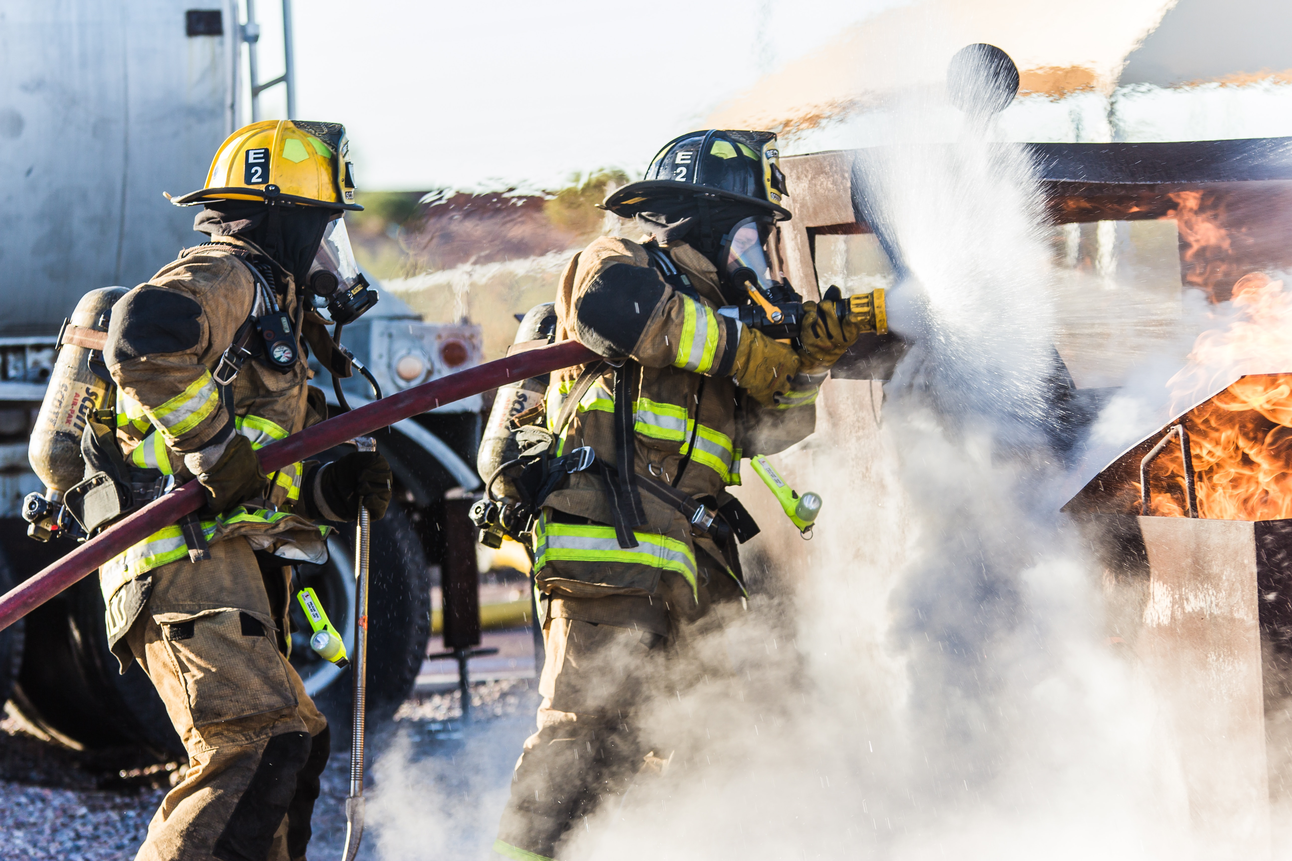Firefighters can ease one another's job stress, but loving spouses may increase it