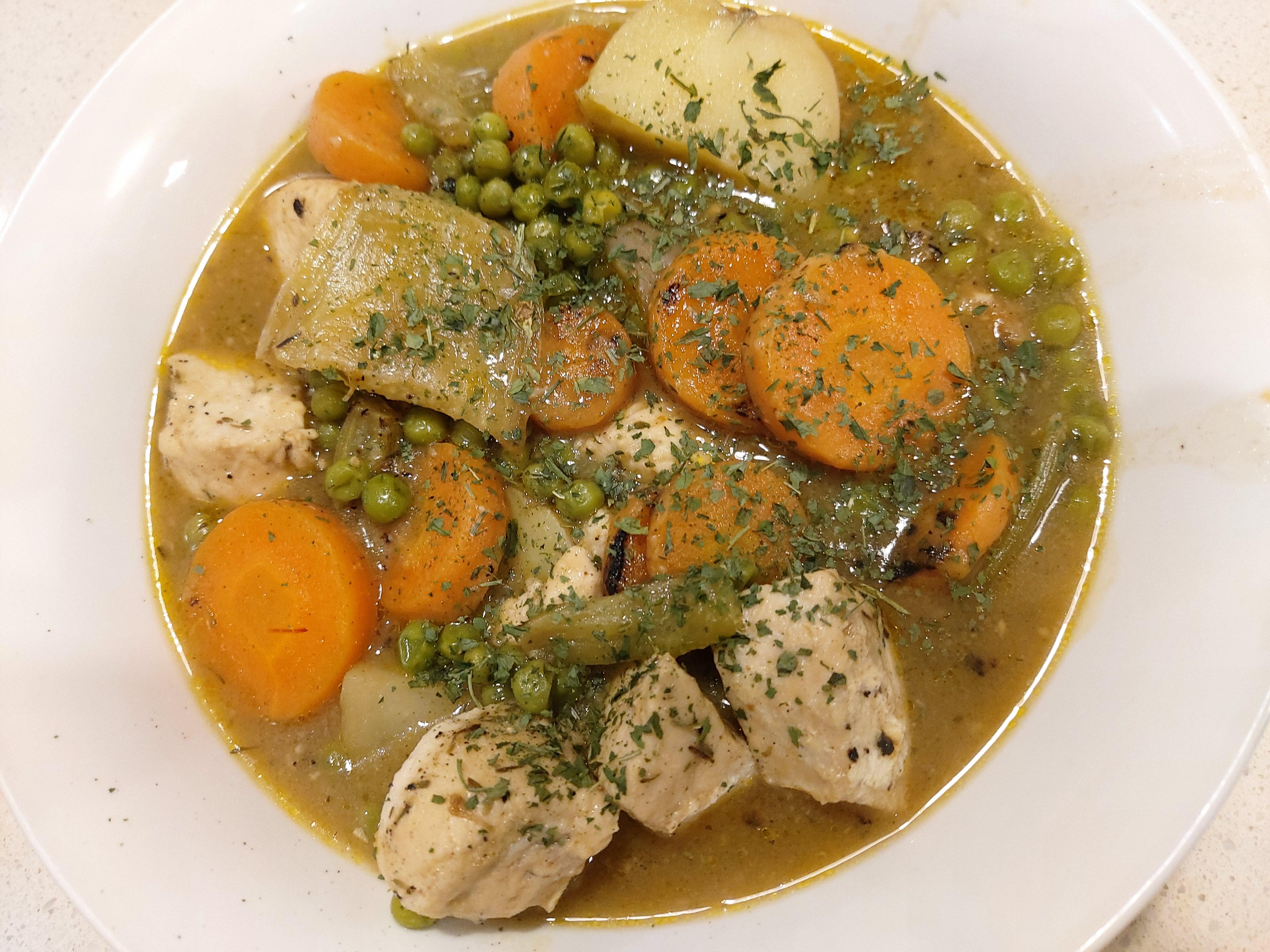 Irish chicken stew