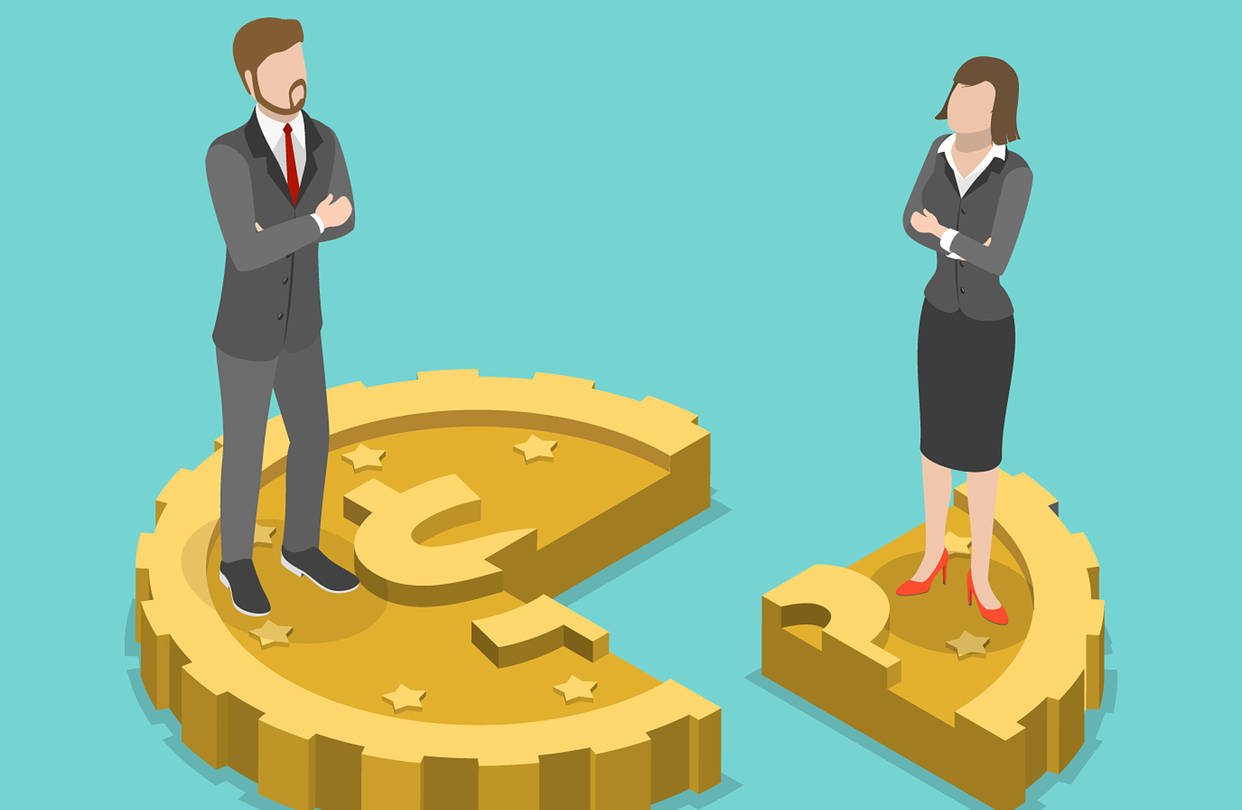 Merit-based employment practices contribute to gender pay gap