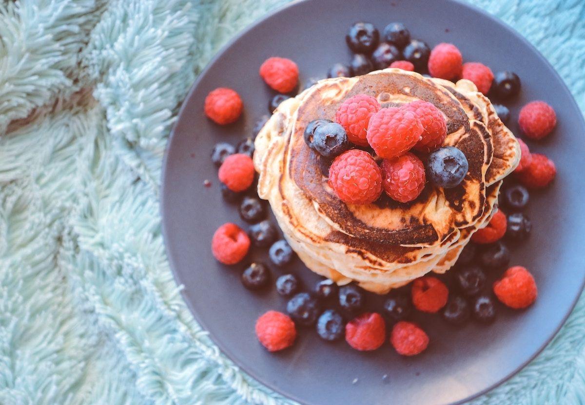 Chocolate Chunk Breakfast Pancakes (Paleo, Gluten-Free)