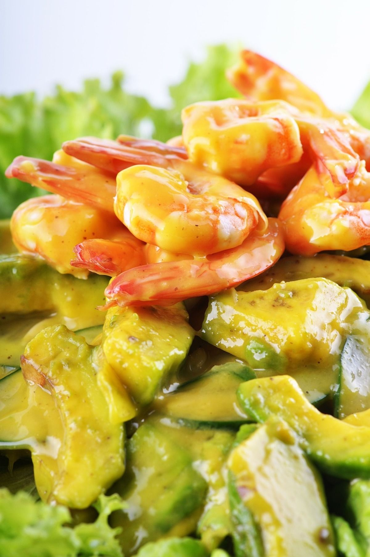 Simple Shrimp Salad (Paleo)