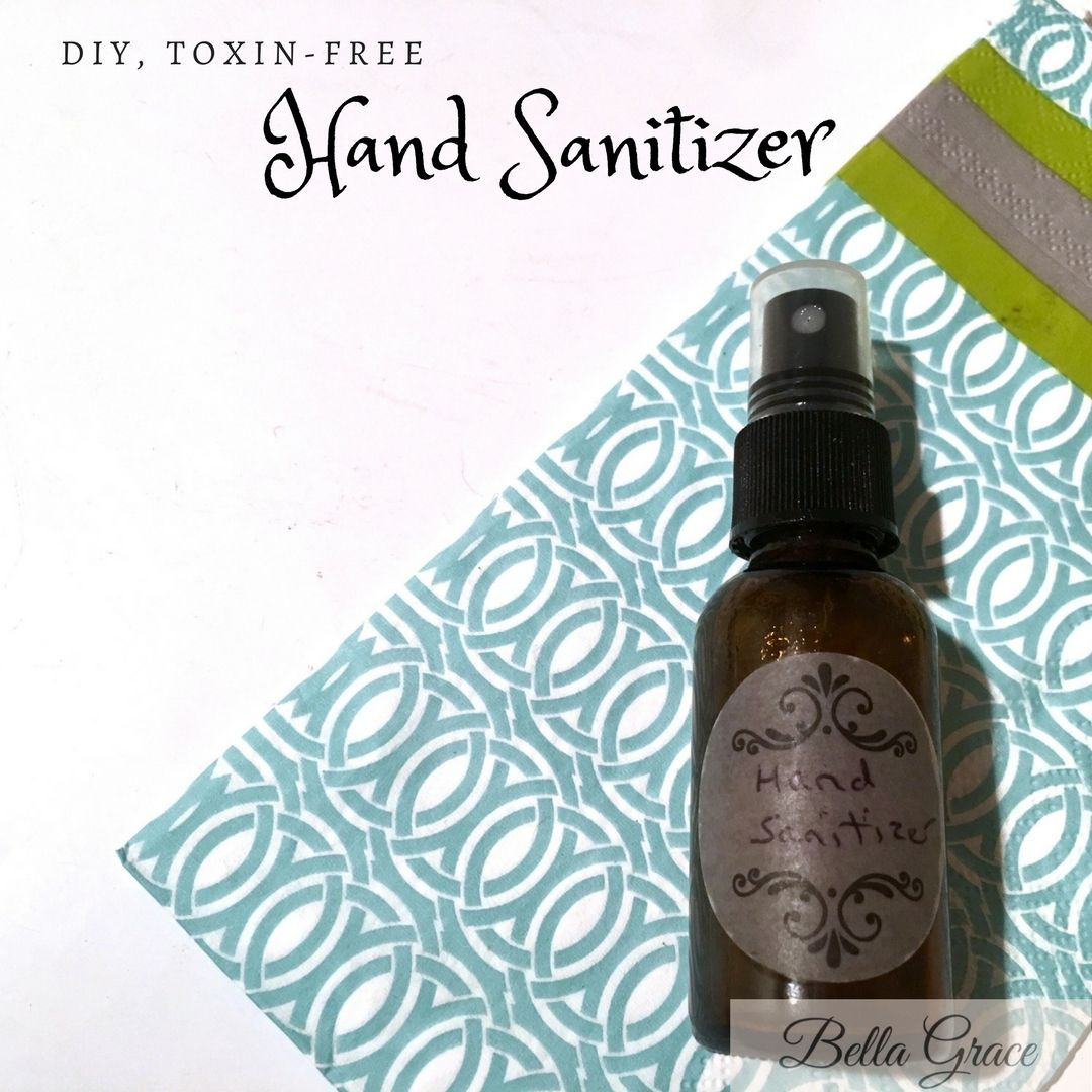 Homemade Chemical-Free Hand Sanitizer