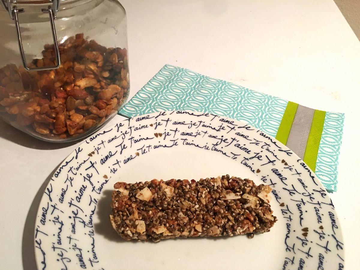 Chewy Granola Bars (Paleo, Vegan)