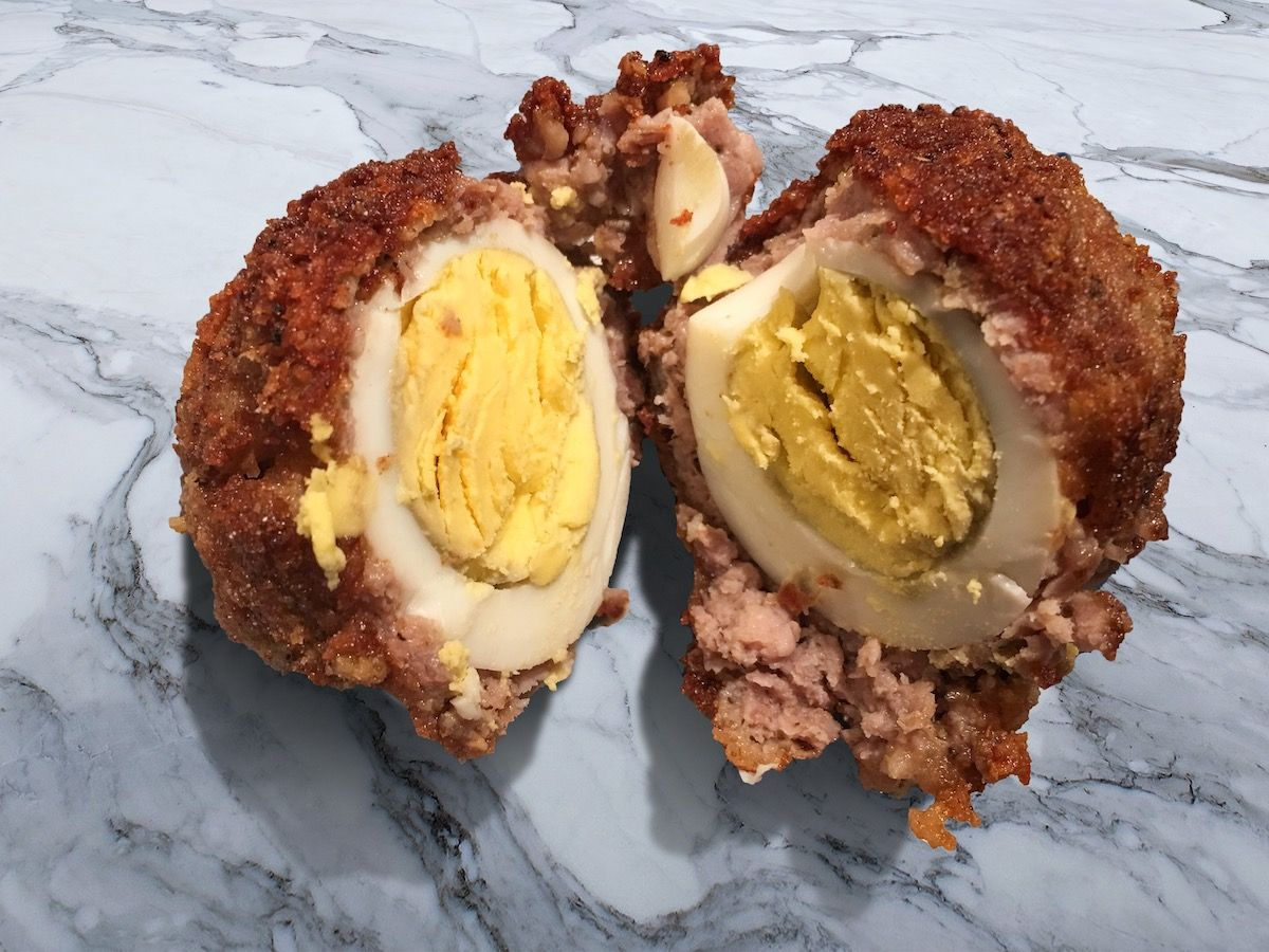 Homemade Scotch Eggs (Paleo, Gluten-Free)