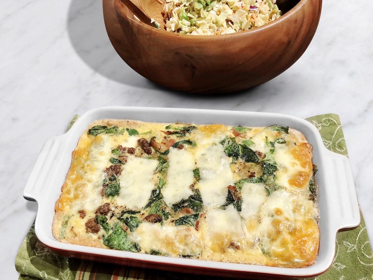 Easy Paleo Quiche (Gluten-Free, Keto)