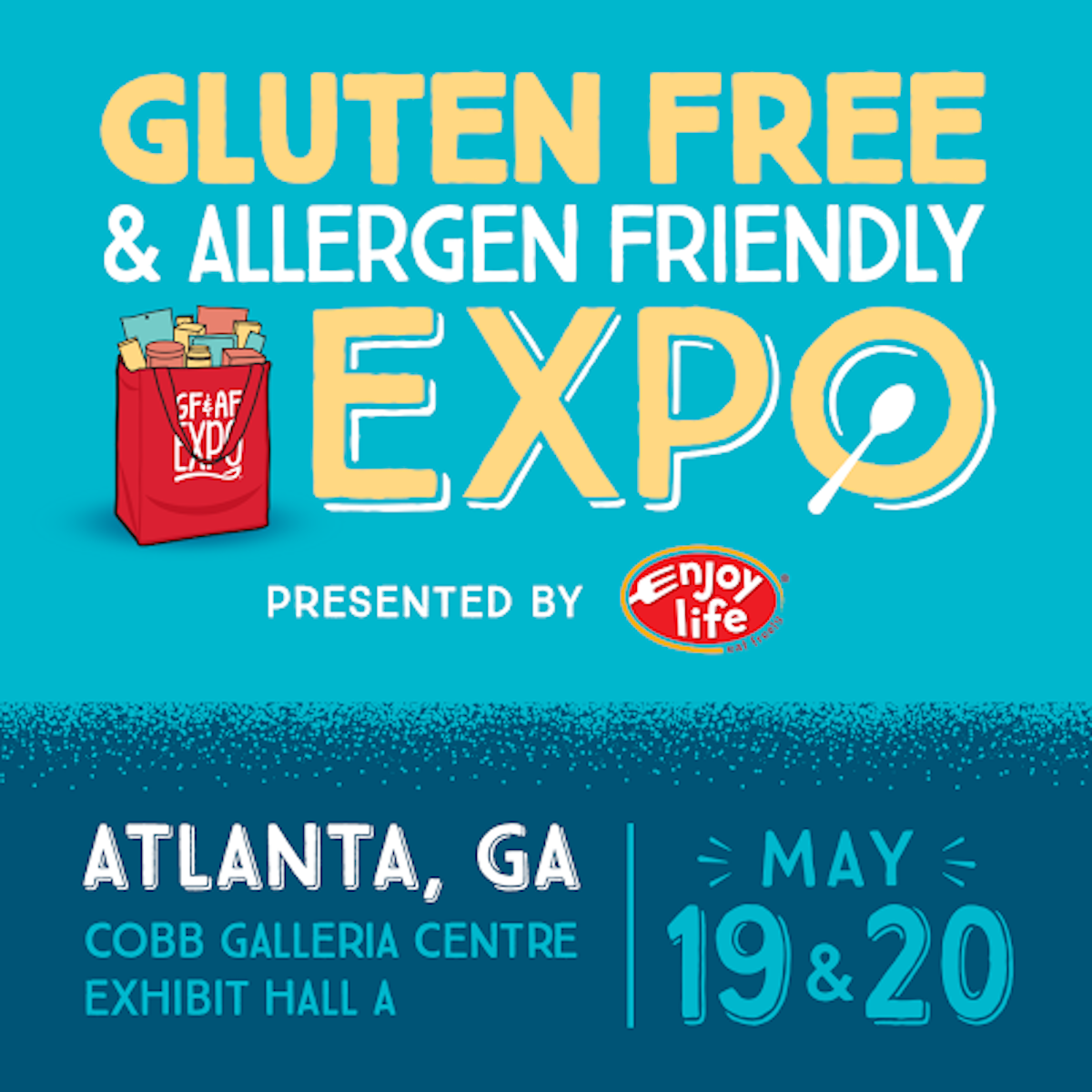 JOIN ME AT THE GLUTEN FREE & ALLERGY FRIENDLY EXPO 2018!