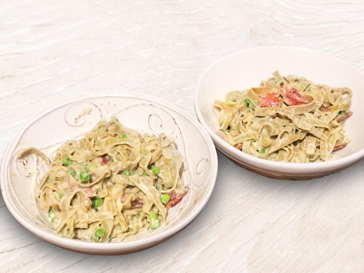 Dairy-Free & Low-Carb Spaghetti Carbonara