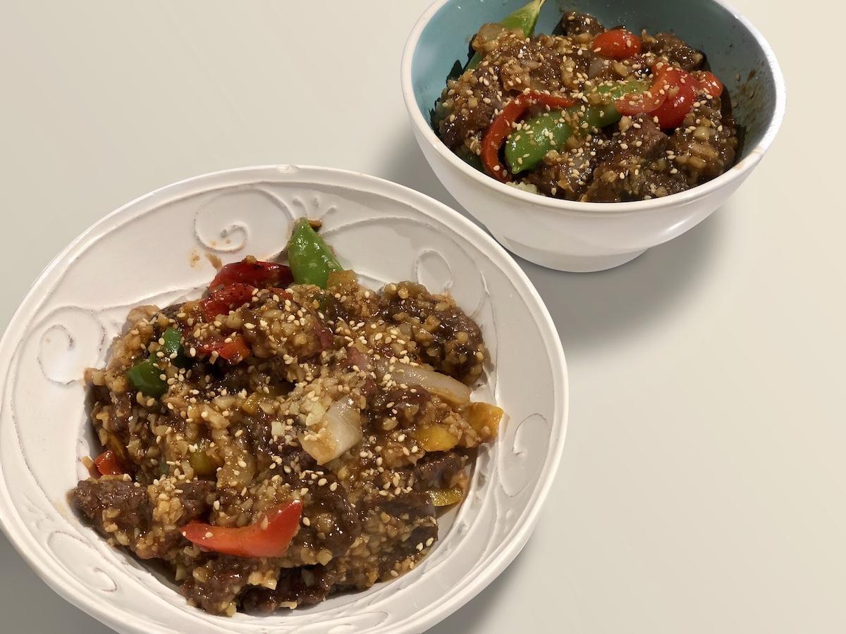 Crispy Szechuan Style Beef