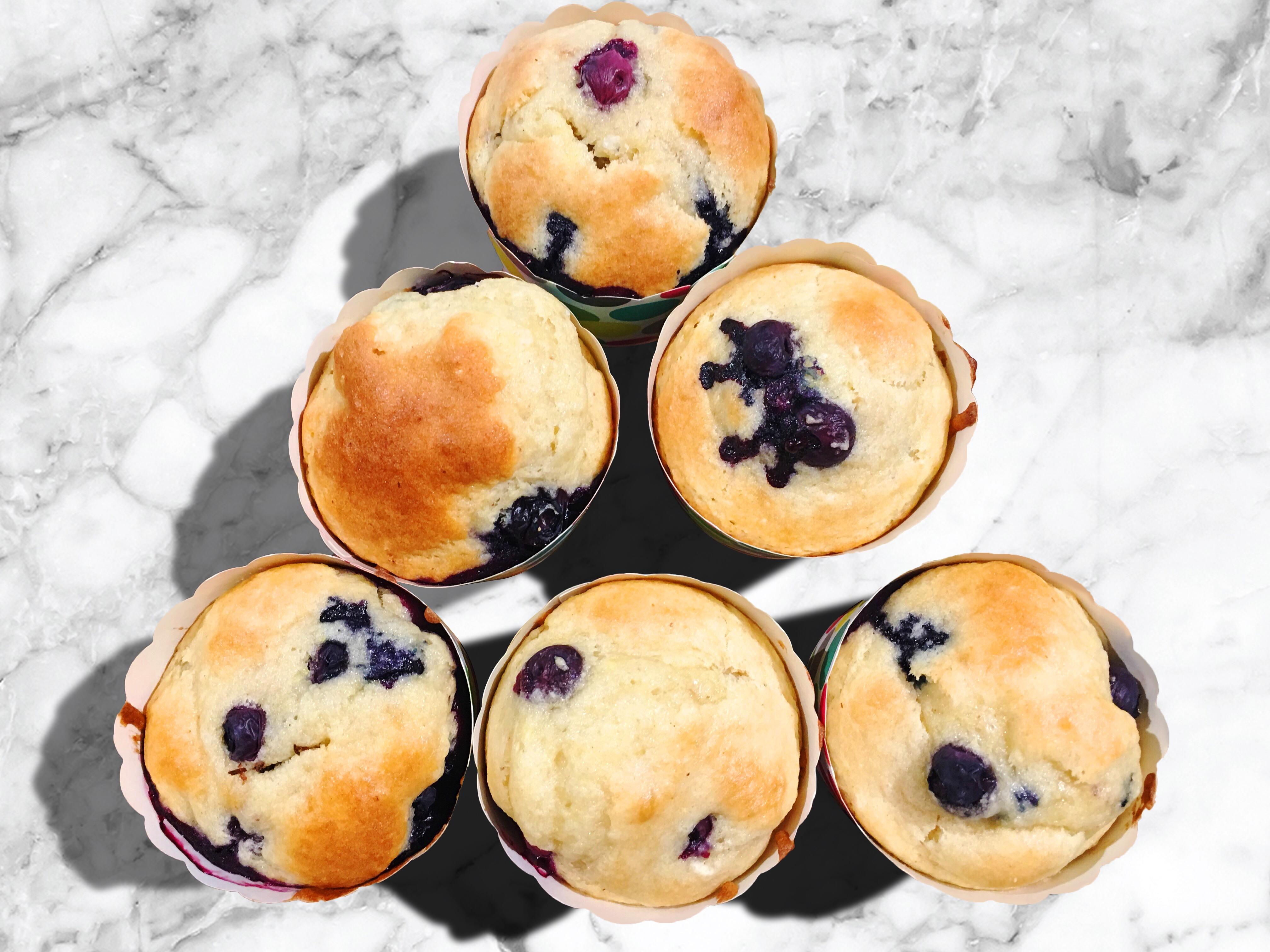 Blueberry Muffins (Paleo, Keto)