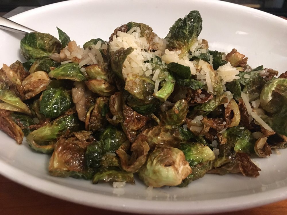 Fully Loaded Holiday Brussels Sprouts