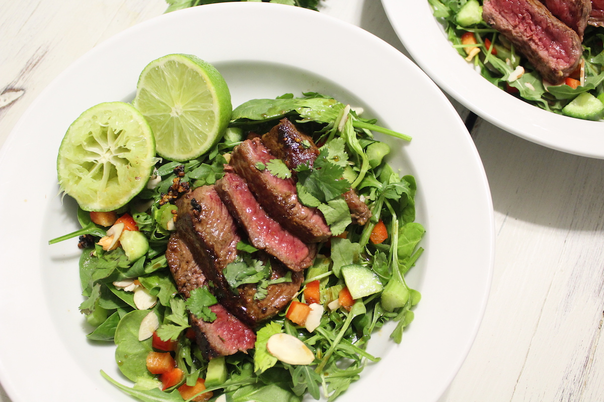 Thai Inspired Steak Salad