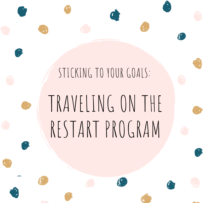 The RESTART Program Travel Tips