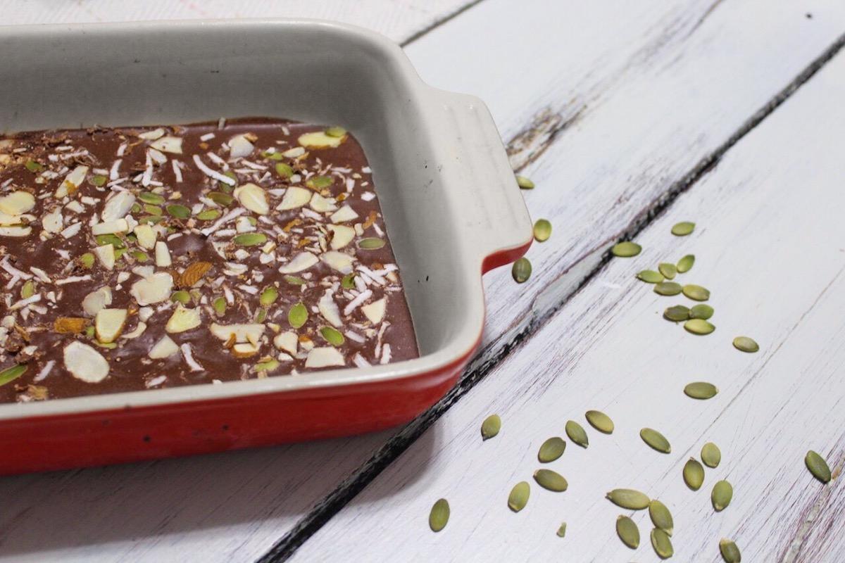 RESTART Approved Cacao Almond Butter Bark