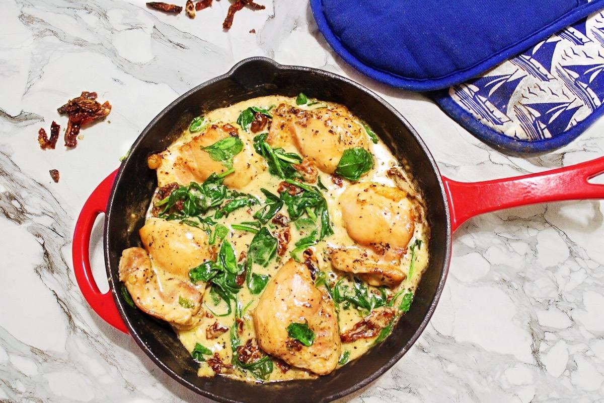 Creamy Chicken Florentine