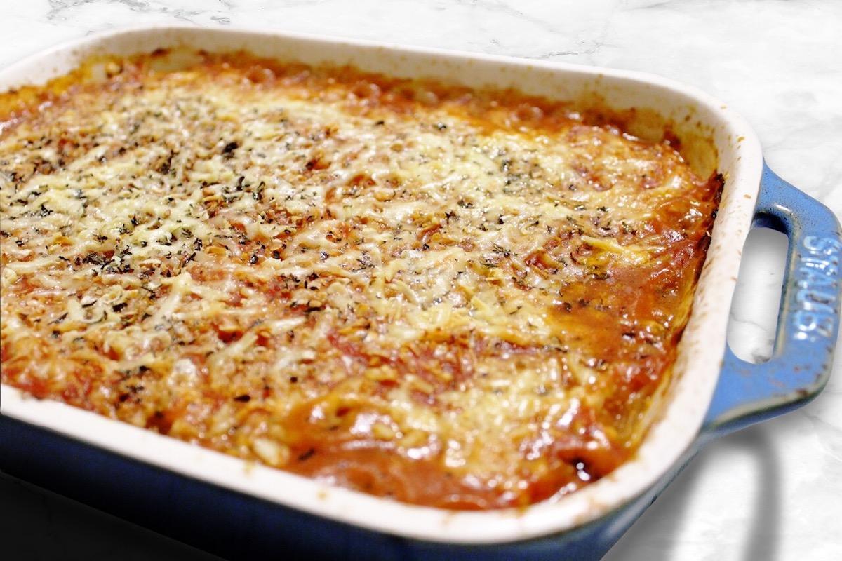 Baked Spaghetti Squash Bolognese (Paleo, Keto)