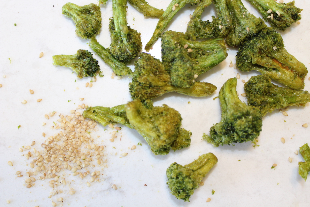Organic Broccoli Crisps (Paleo, Vegan, Keto)