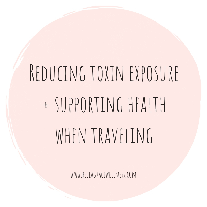 Toxin-Free Travel: Preventing Toxic Burden When Traveling