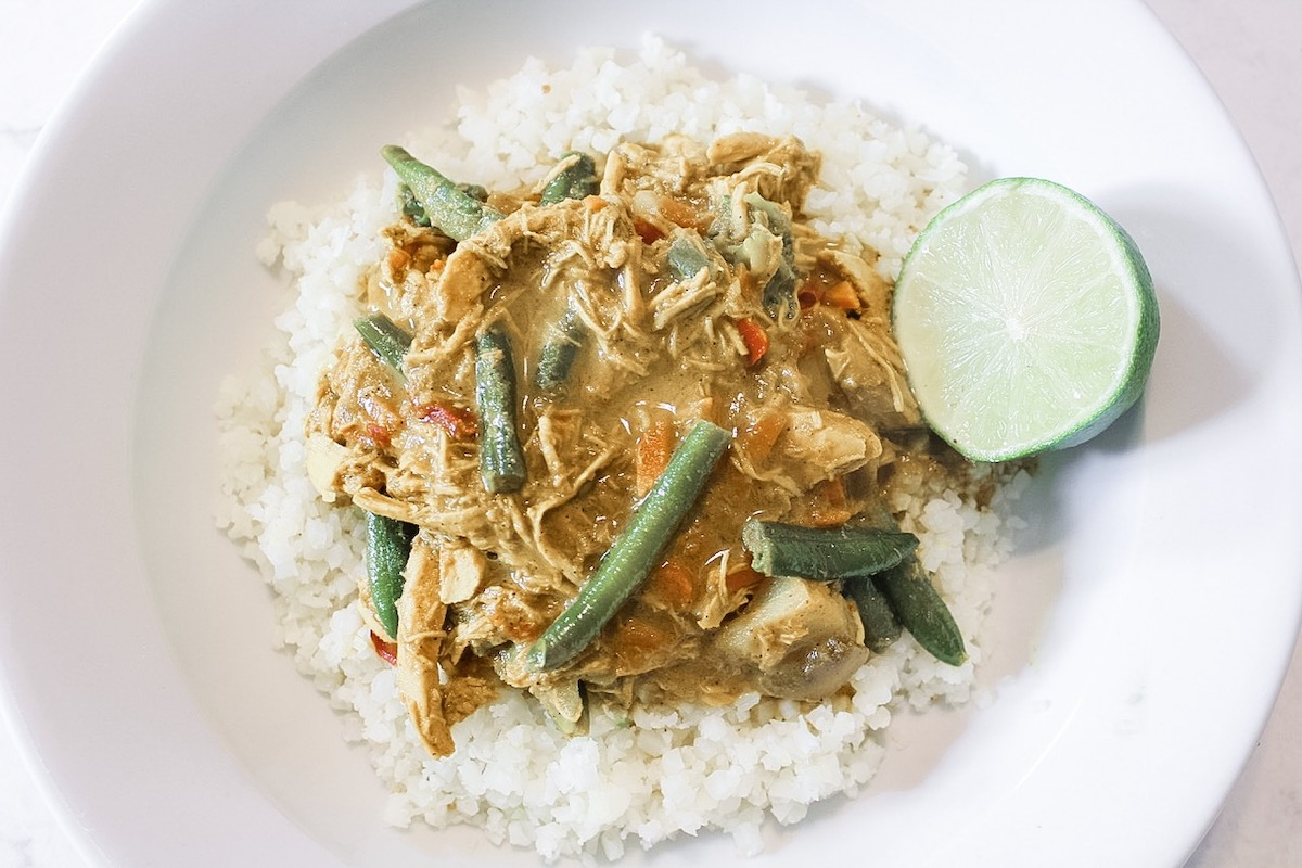 Thai Yellow Curry (Paleo, Keto)