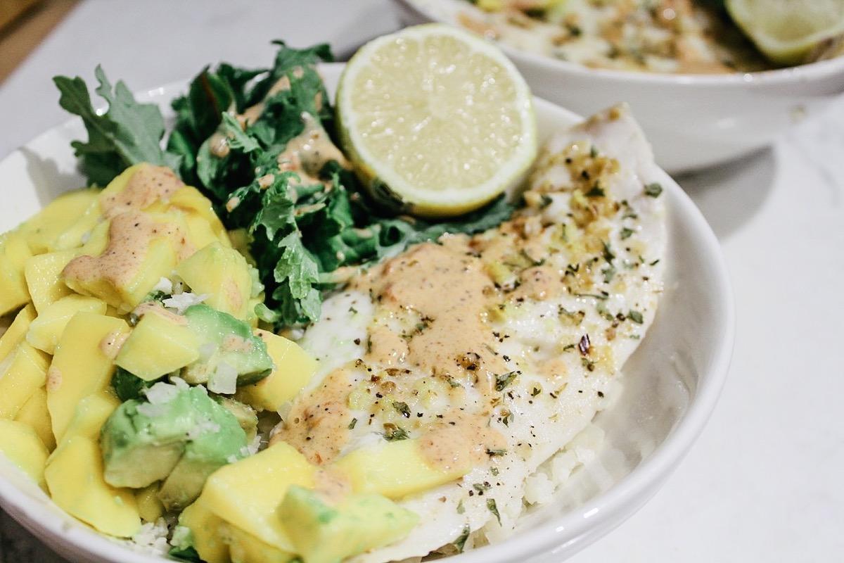 Summer Fish Taco Bowls