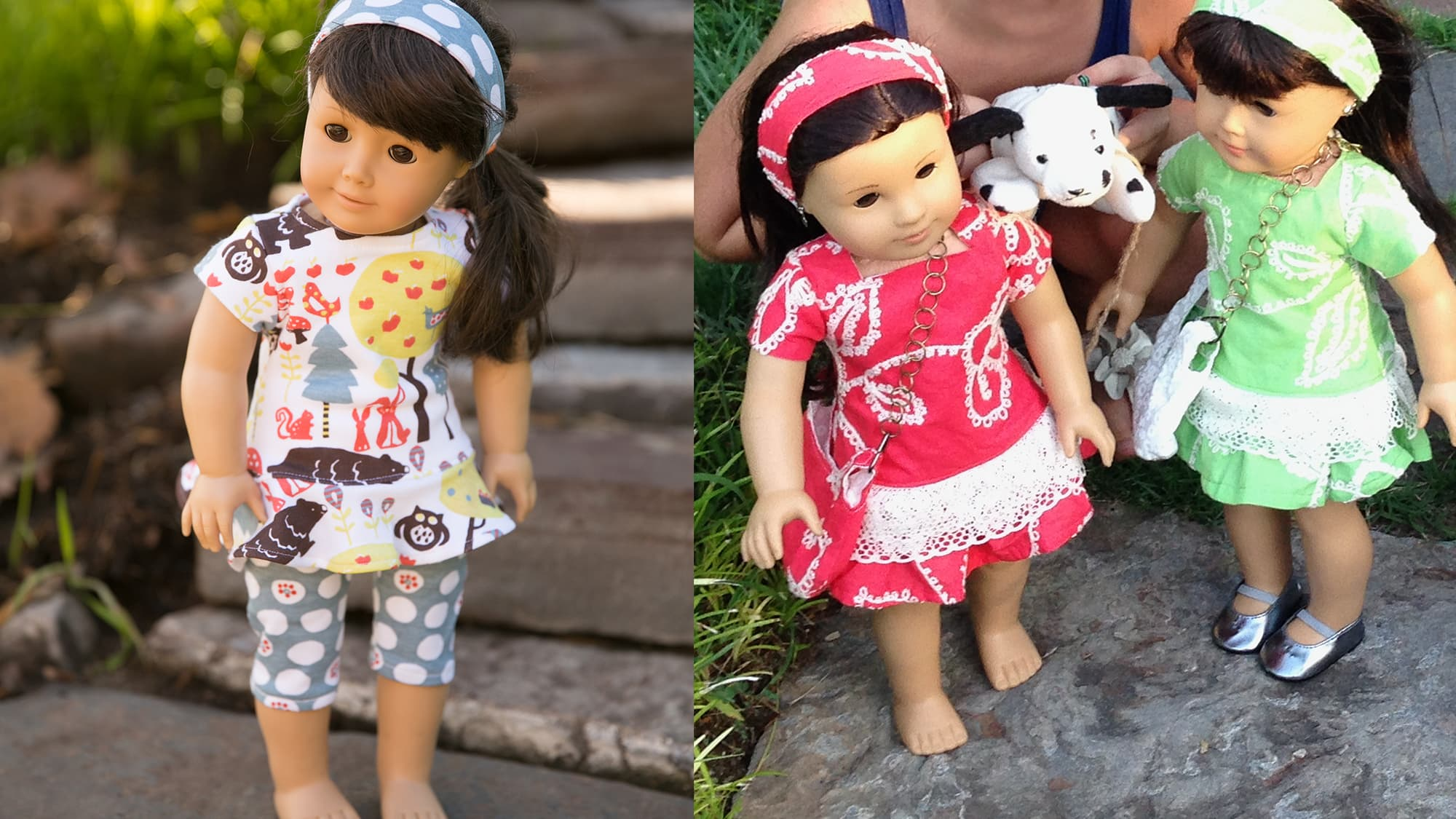 Doll Dress & Headband