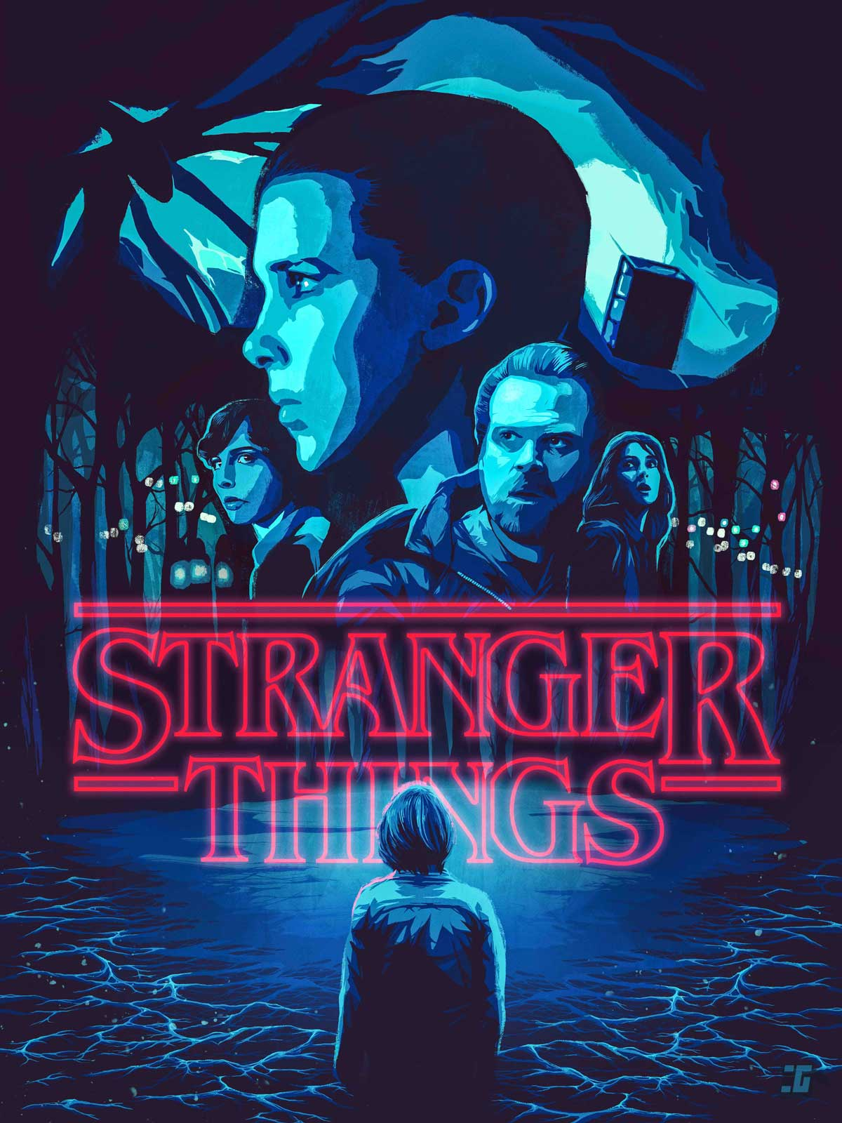 Stranger Things Movie Poster Netflix