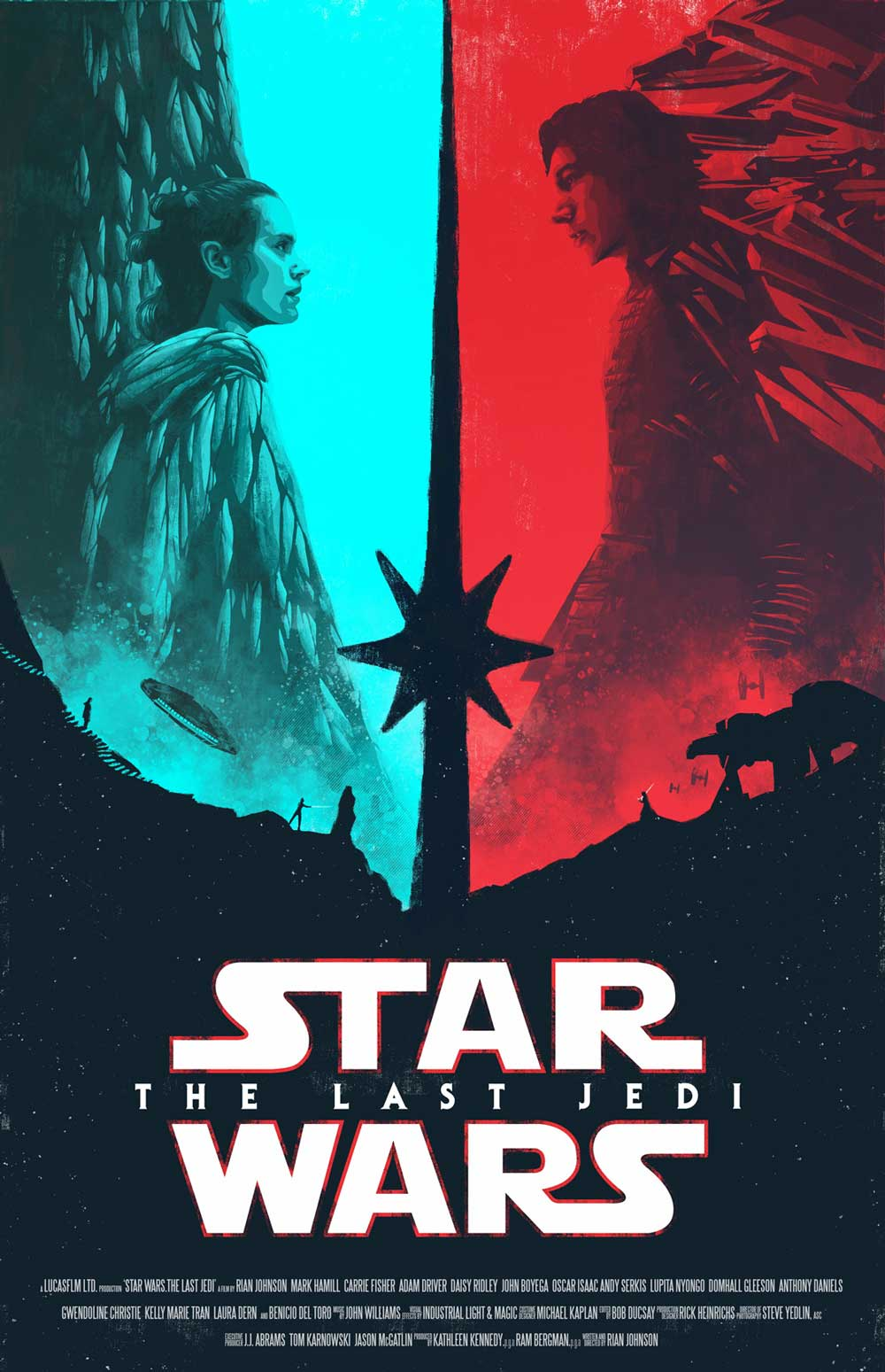 Star Wars The Last Jedi Movie Poster Lucasfilm