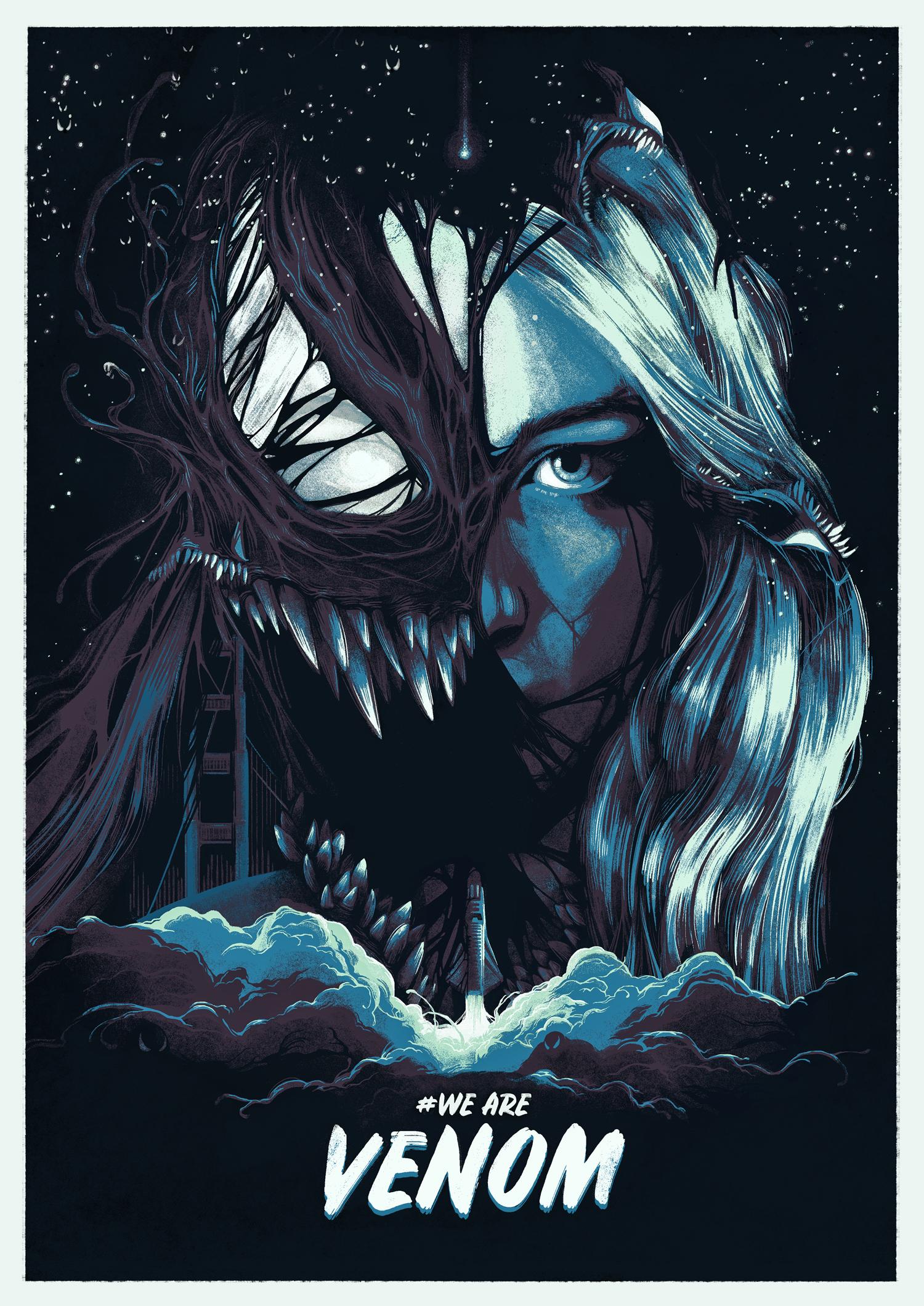Venom Movie Poster Marvel