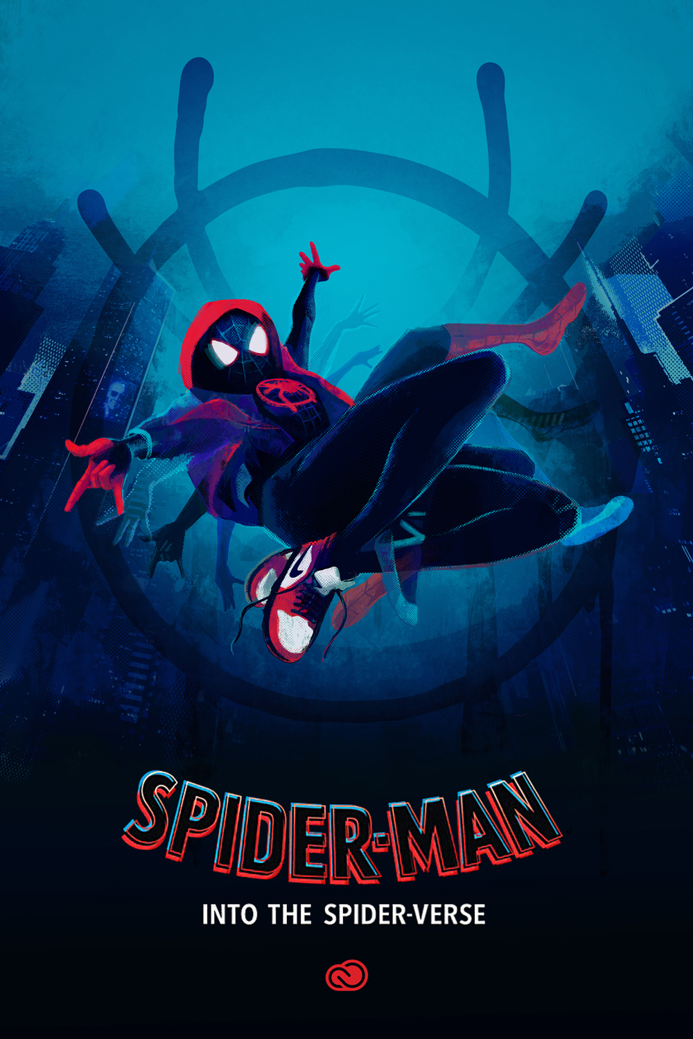 Spider-Man Into The Spider-Verse Movie Poster Marvel