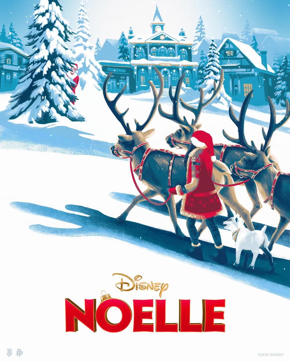 Disney Noelle Movie Poster
