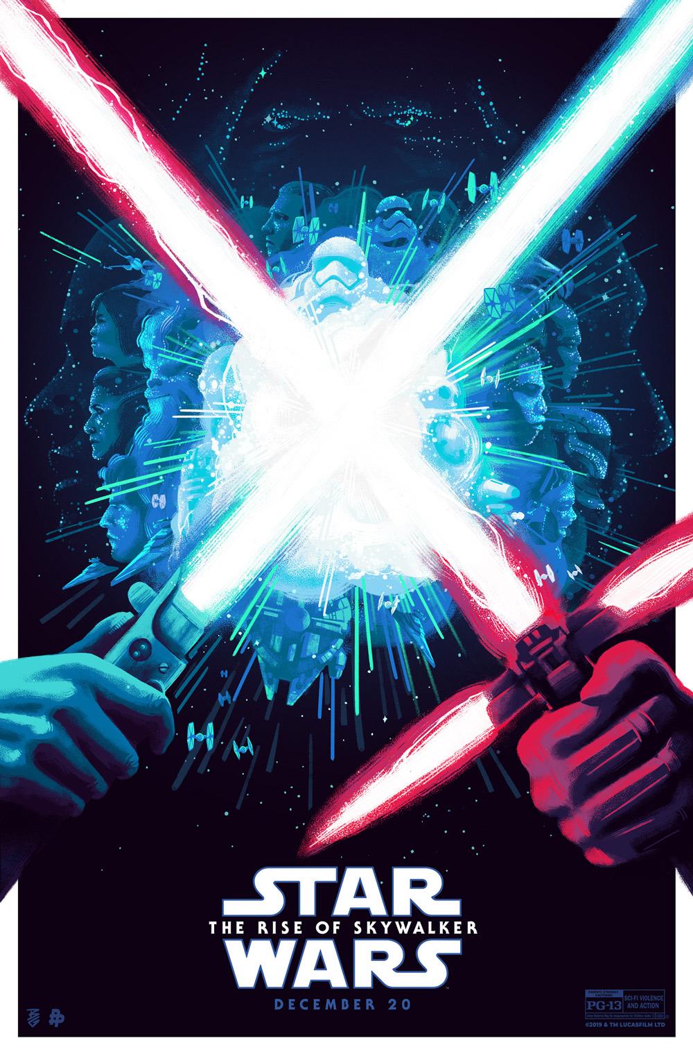 Star Wars Rise of Skywalker, Disney