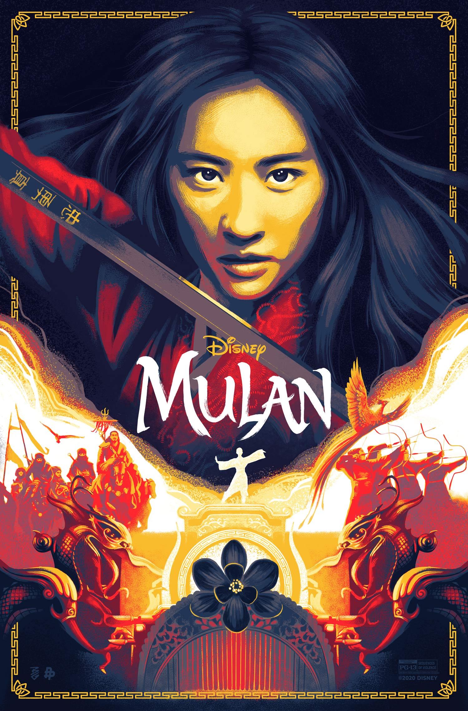Disney Mulan Movie Poster