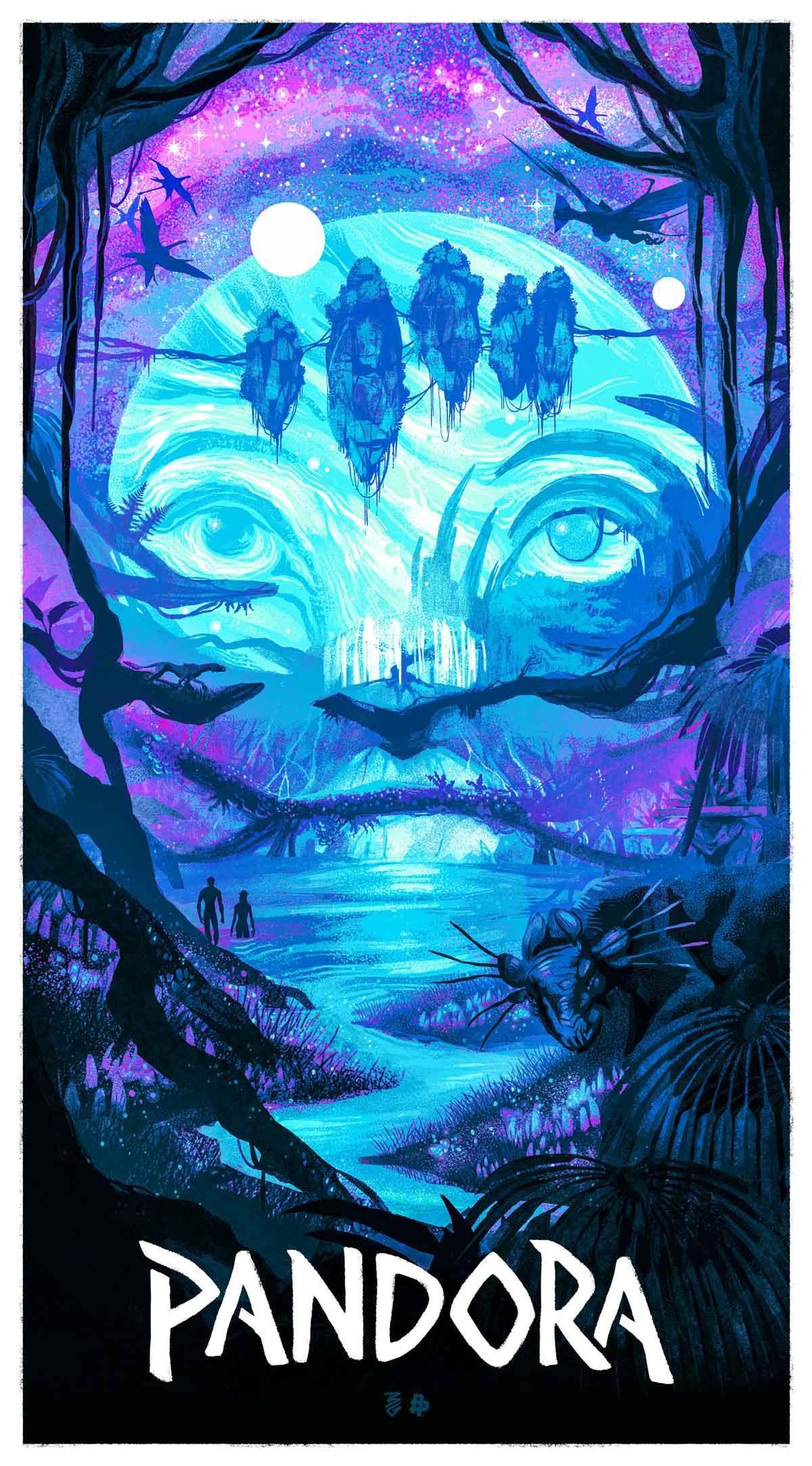 Avatar Pandora poster