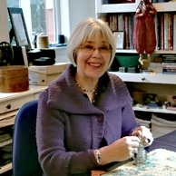 Midge Gourlay textile artist and teacher