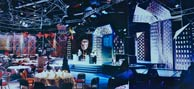 Set design for BAFTA Craft Awards, 1989