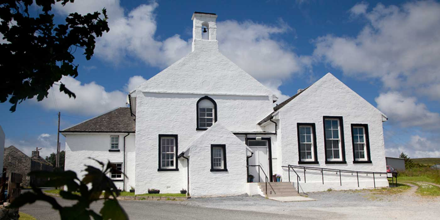Architect-designed holiday apartments in Port Charlotte, Islay