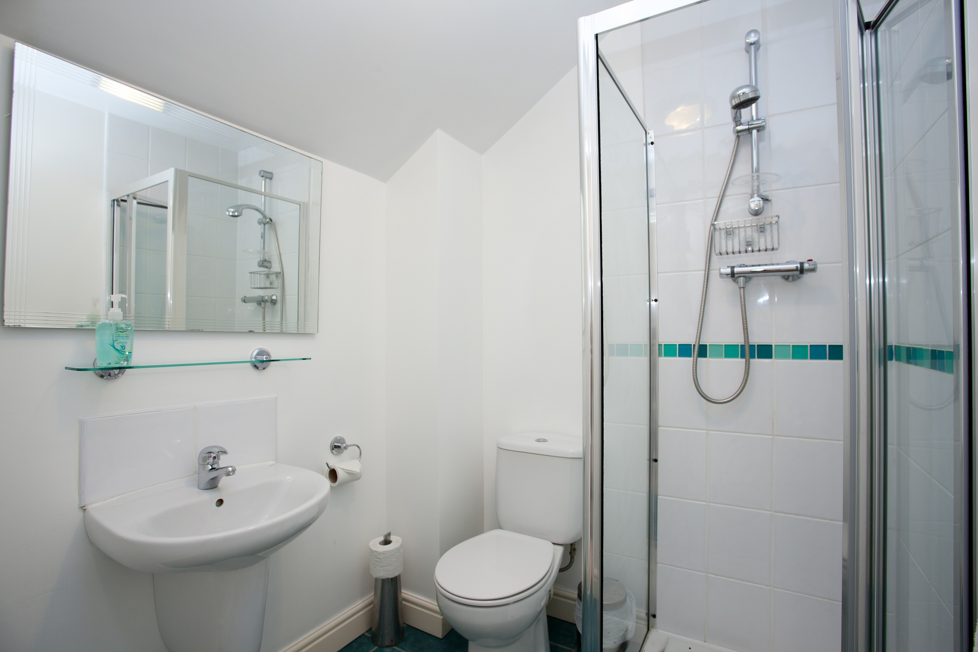 Islay holiday apartments: stylish modern bathrooms & showers