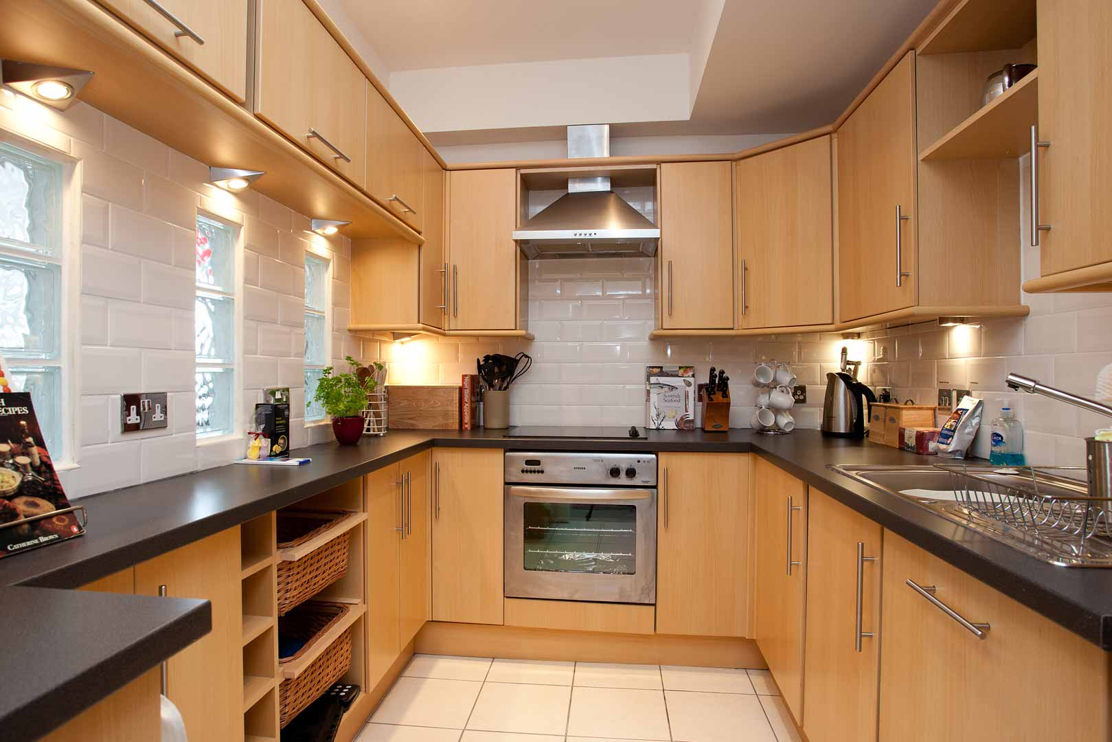 Islay holiday apartments: superbly equipped kitchens