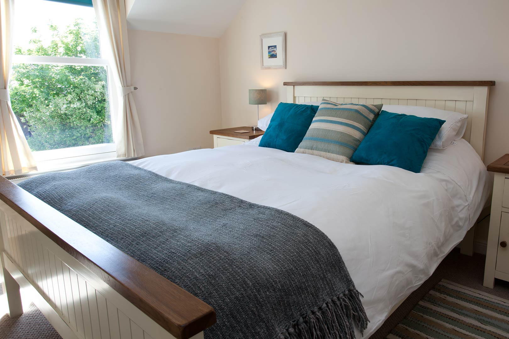 Islay holiday cottages: each cottage has two double bedrooms