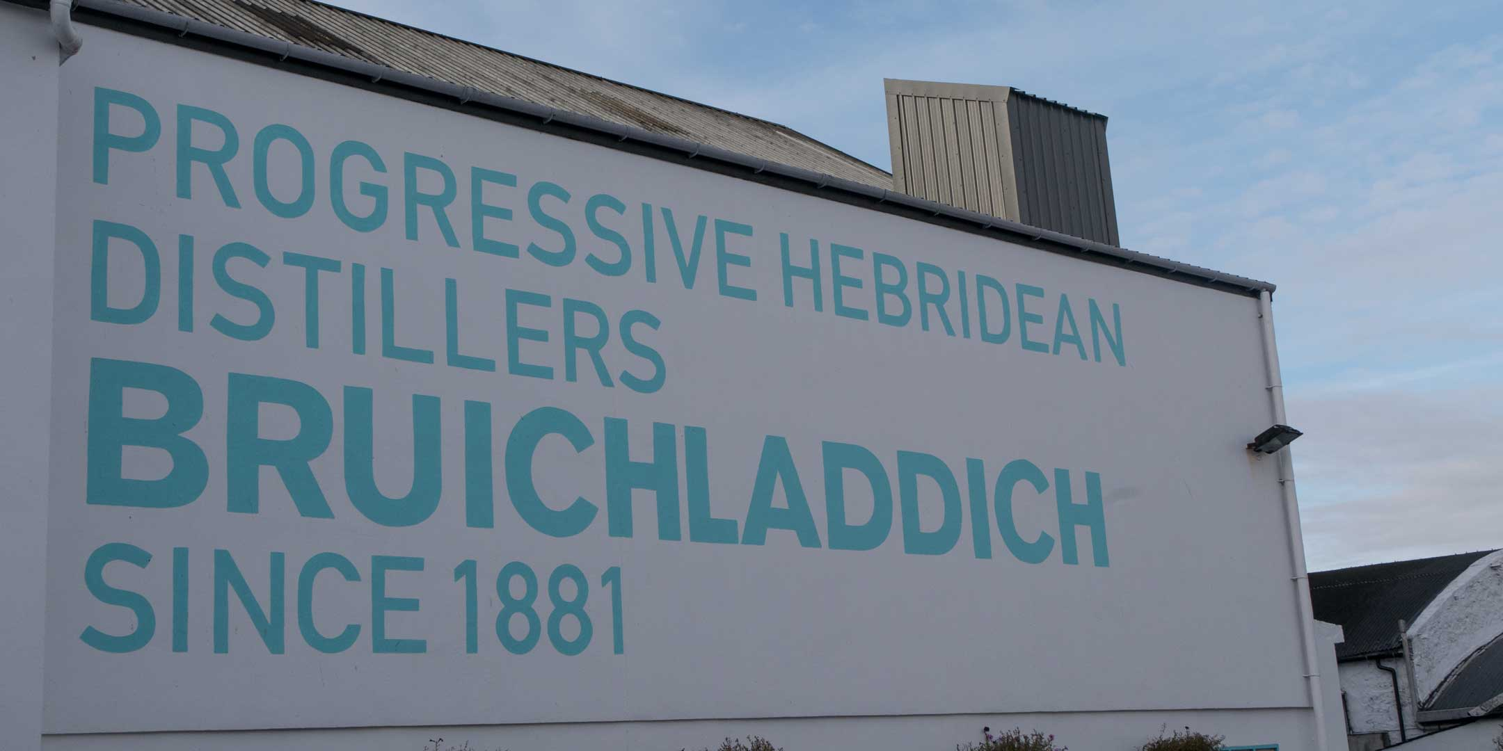 Bruichladdich distillery is in easy reach from Port Charlotte