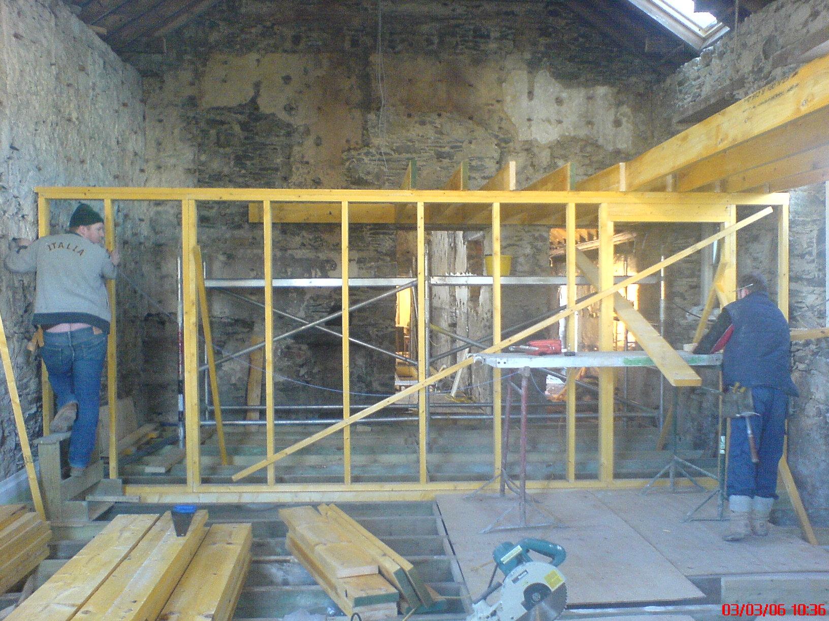 The Hall - renovations in progress