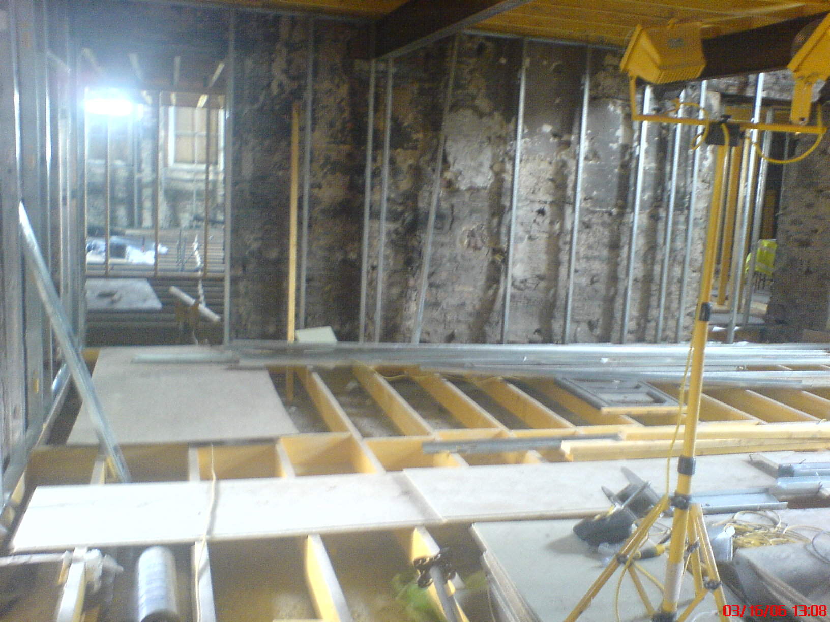 The Hall - renovations in progress