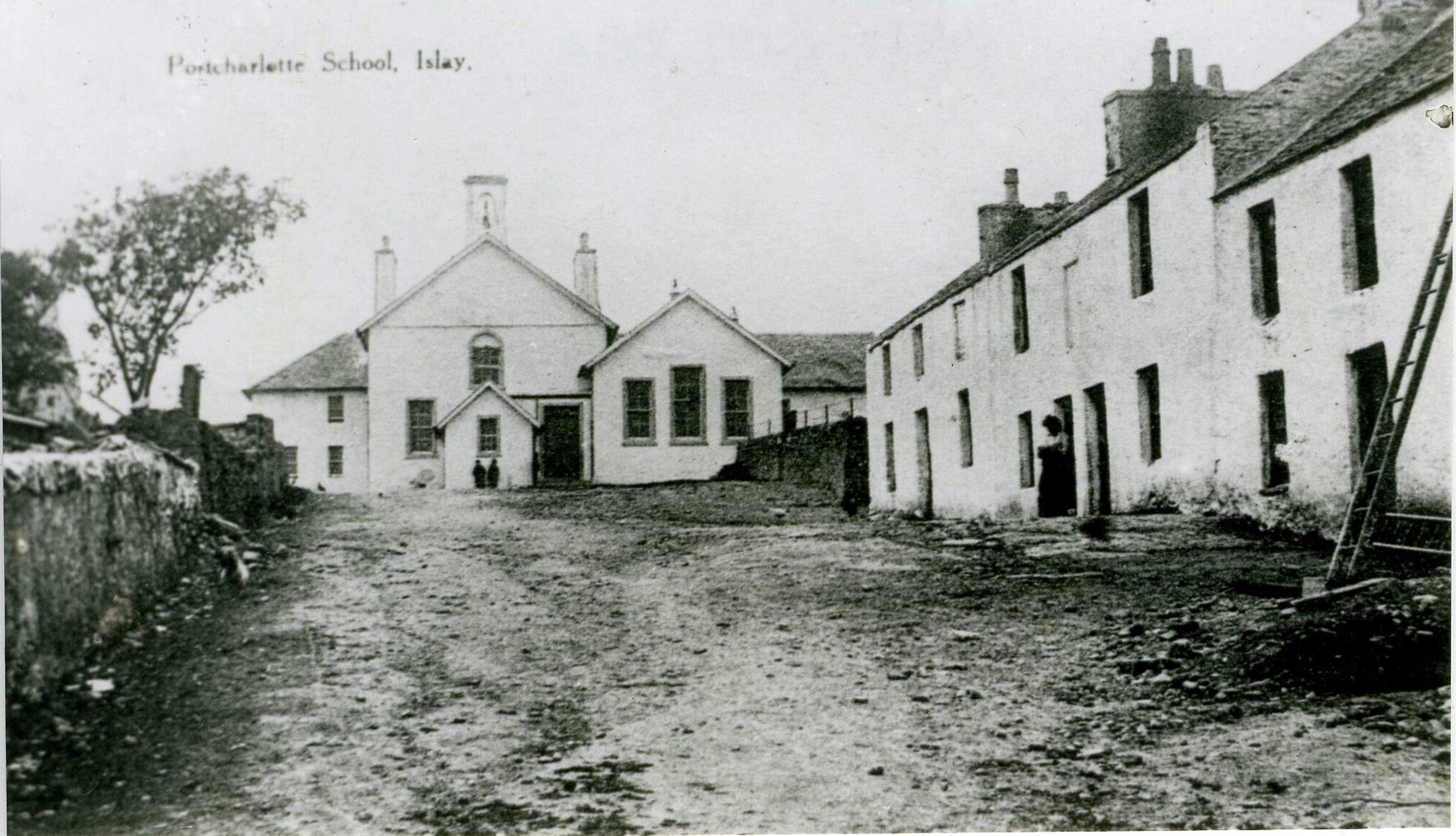 Historic photo of Port Charlotte Hall