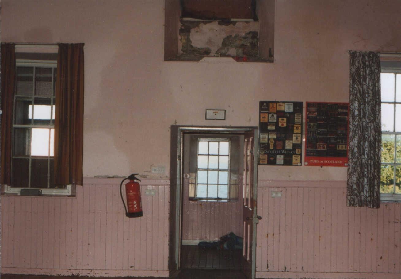 Internal view of the Hall - now Saligo apartment