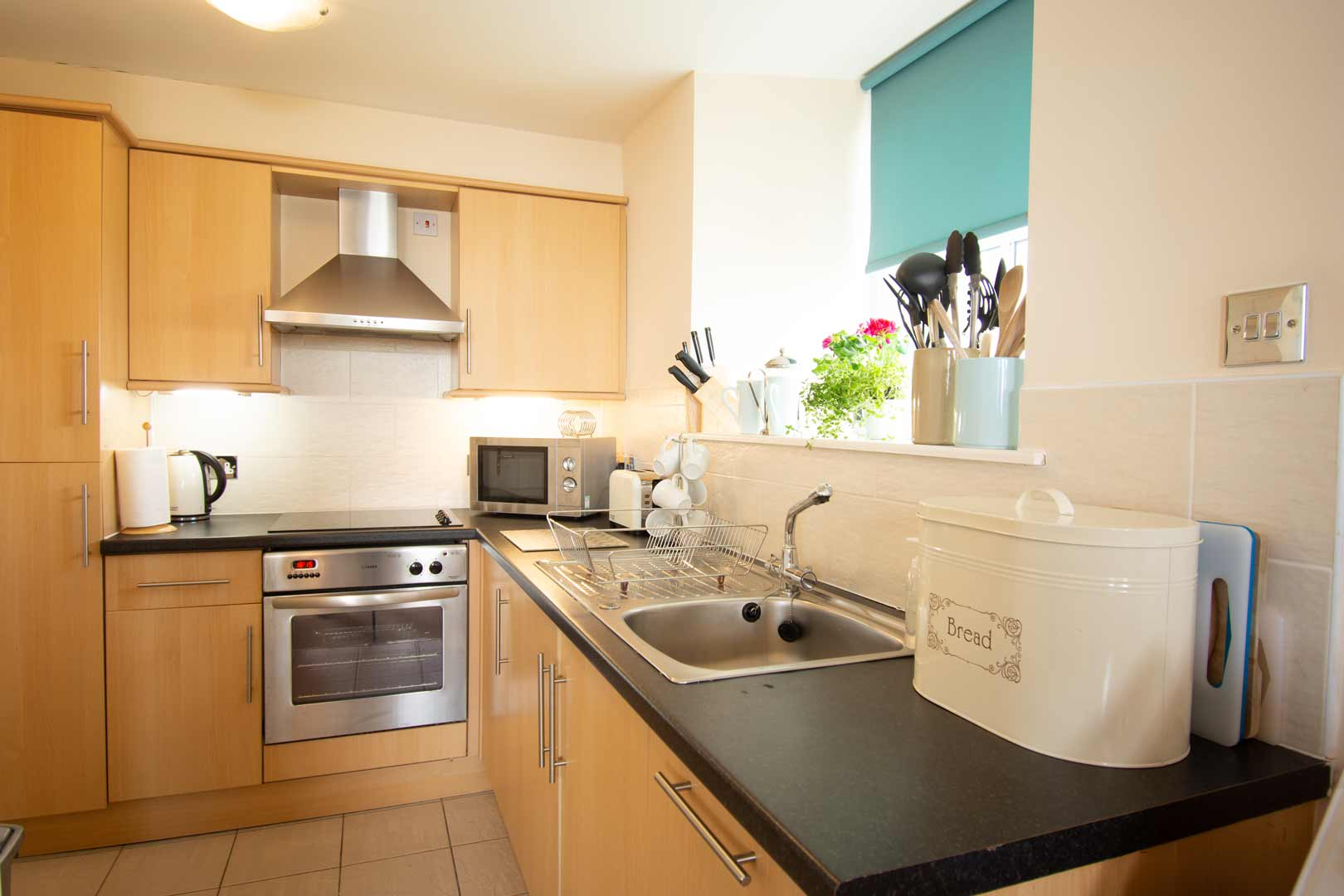 Kilchoman apartment: fully equipped kitchen