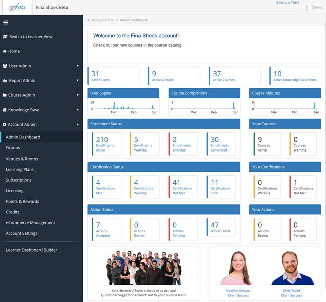 Lovelace - SmarterU LMS - Online Training Software