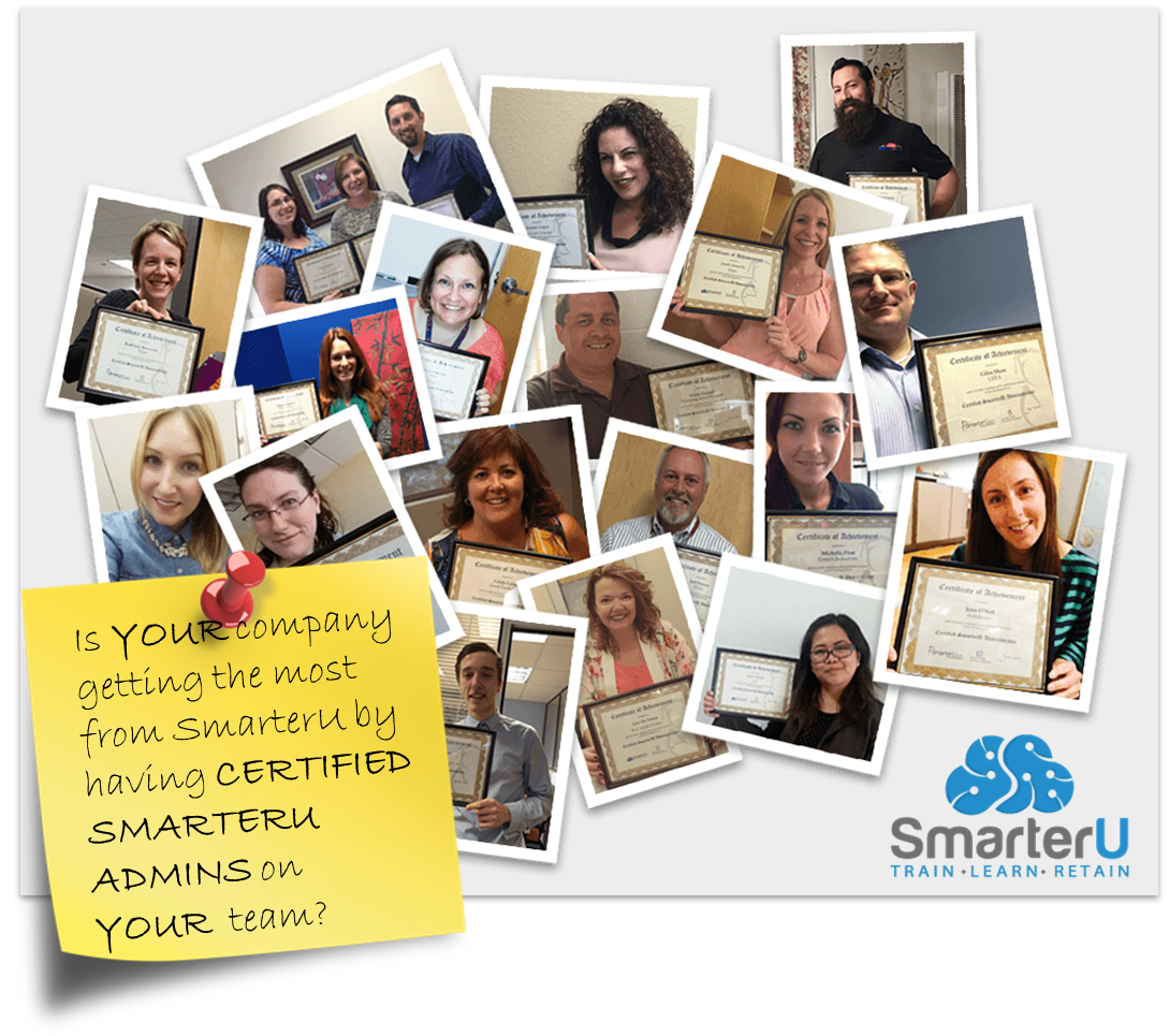 Are your SmarterU Admins Certified? - SmarterU LMS