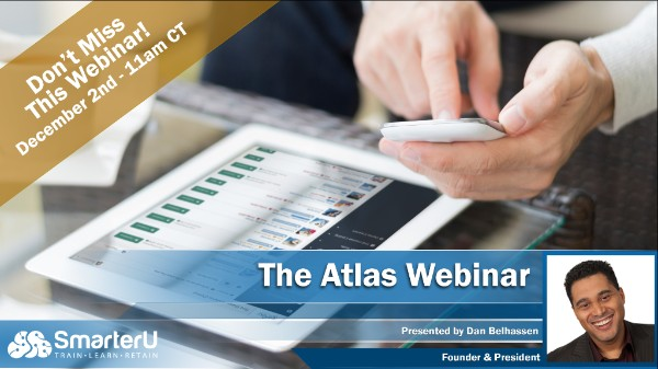 Atlas Webinar - SmarterU LMS - Learning Management System