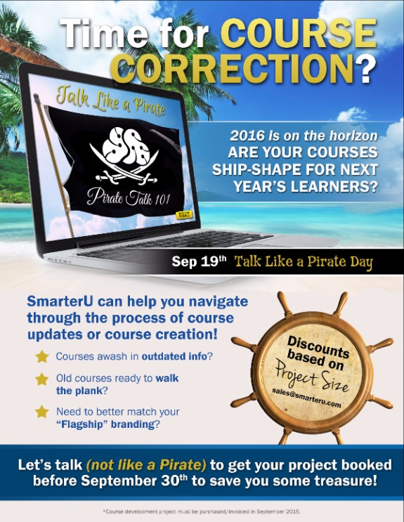 Time for Course Correction - SmarterU LMS - Learning Management System