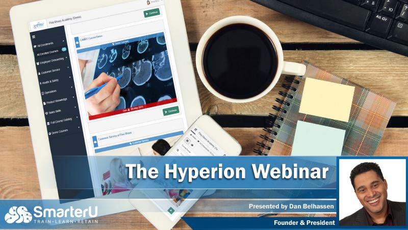 Hyperion Webinar - SmarterU LMS - Blended Learning