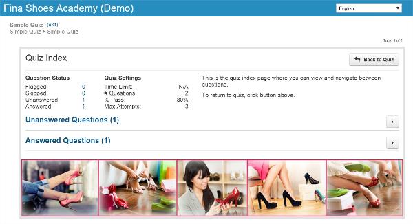 Quizzing & Exam Updates - SmarterU LMS - Online Training Software